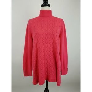 Talbots Cable Knit Sweater Womens 2X B32-04z